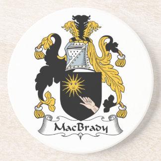 MacBrady Family Crest Coasters