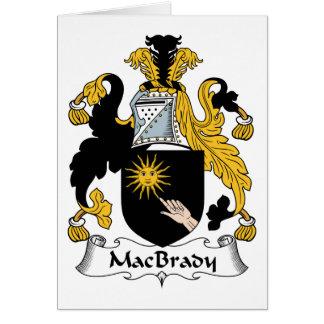 MacBrady Family Crest Greeting Cards
