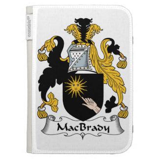 MacBrady Family Crest Kindle Folio Cases