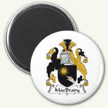 MacBrady Family Crest Magnet