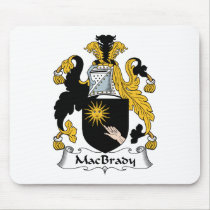 MacBrady Family Crest Mousepad