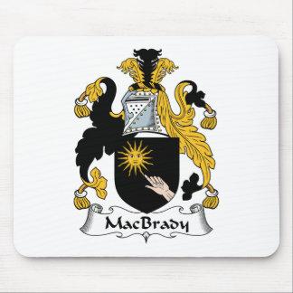 MacBrady Family Crest Mouse Pad