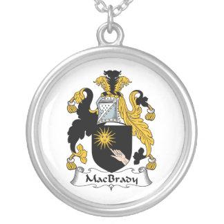 MacBrady Family Crest Personalized Necklace