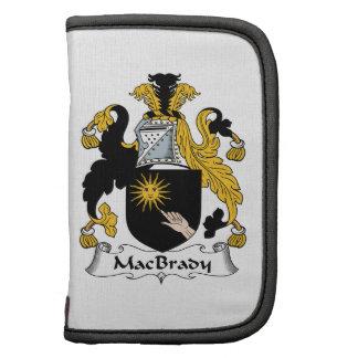 MacBrady Family Crest Planner