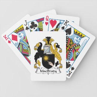 MacBrady Family Crest Poker Cards