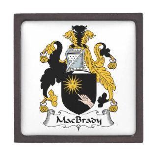 MacBrady Family Crest Premium Trinket Box