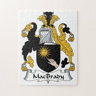 MacBrady Family Crest Puzzle
