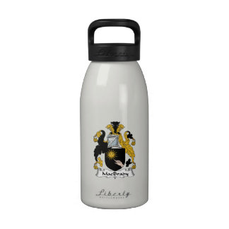 MacBrady Family Crest Reusable Water Bottle