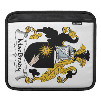 MacBrady Family Crest Sleeve For iPads