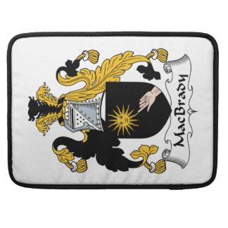 MacBrady Family Crest Sleeve For MacBooks