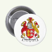 MacBrayne Family Crest Button