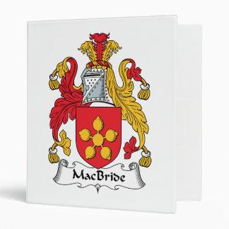 MacBride Family Crest Binder