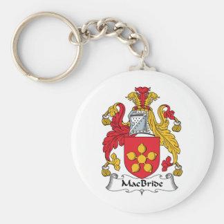MacBride Family Crest Keychains
