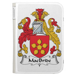 MacBride Family Crest Kindle Keyboard Cases
