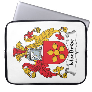 MacBride Family Crest Laptop Sleeve