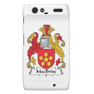 MacBride Family Crest Motorola Droid RAZR Cases