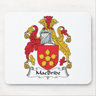 MacBride Family Crest Mouse Pads