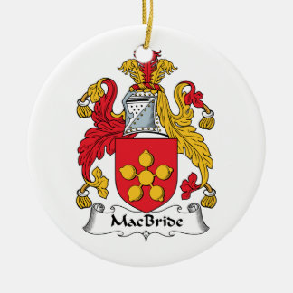 MacBride Family Crest Ornament