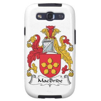 MacBride Family Crest Samsung Galaxy S3 Cover