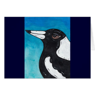 Macca the Magpie Card