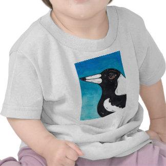 Macca the Magpie Tshirts