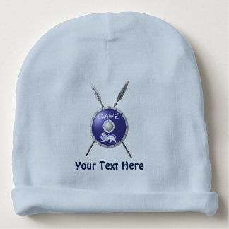 Maccabee Shield And Spears Baby Beanie