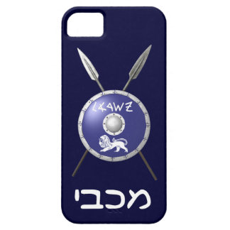 Maccabee Shield And Spears iPhone 5 Case