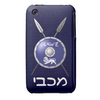 Maccabee Shield And Spears iPhone 3 Covers