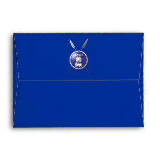 Maccabee Shield And Spears Envelope