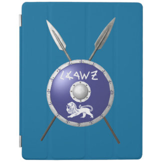 Maccabee Shield And Spears iPad Cover