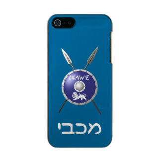 Maccabee Shield And Spears Incipio Feather® Shine iPhone 5 Case