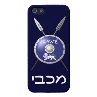 Maccabee Shield And Spears iPhone 5/5S Cover