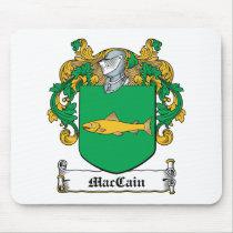 MacCain Family Crest Mousepad