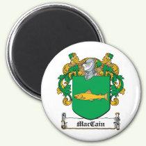 MacCain Family Crest Magnet