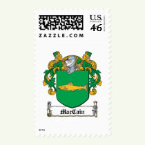MacCain Family Crest Stamps