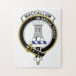 MacCallum Clan Badge Jigsaw Puzzles