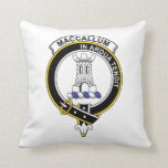 MacCallum Clan Badge Pillow