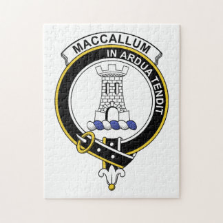 MacCallum Clan Badge Puzzle