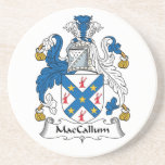 MacCallum Family Crest Beverage Coasters