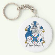 MacCallum Family Crest Keychain
