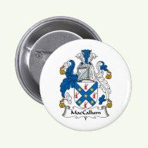 MacCallum Family Crest Button