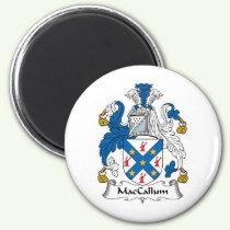 MacCallum Family Crest Magnet