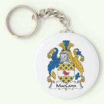 MacCann Family Crest Keychain