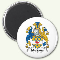 MacCann Family Crest Magnet