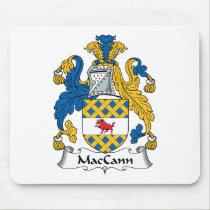 MacCann Family Crest Mousepad