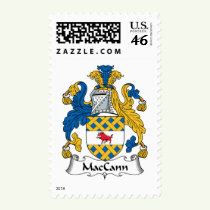 MacCann Family Crest Stamps