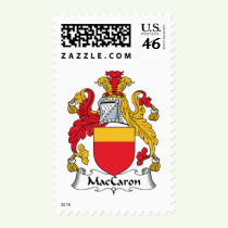 MacCaron Family Crest Stamps