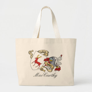MacCarthy Family Crest Canvas Bags
