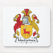 MacCartney Family Crest Mousepad