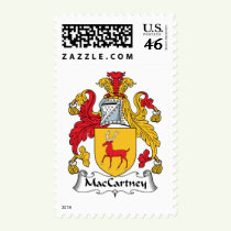 MacCartney Family Crest Stamps